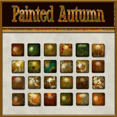 """Painted Autumn"" Layer PS Styles (CU4CU)"